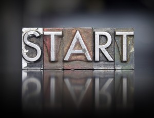 Getting started, take the first step
