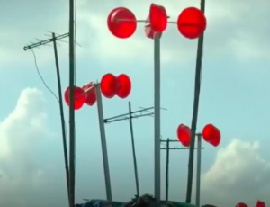 Small village makes electricity from plastic bowls