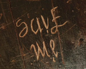 ambigram, save me