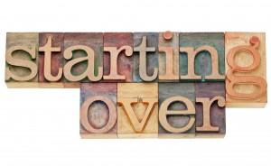 starting over restart